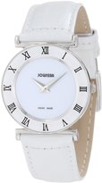 Jowissa Women's J2.001.M Roma 30mm Leather Roman Numeral Watch