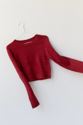 Urban Outfitters Spenser Fuzzy Crew Neck Sweater