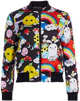 Alice + Olivia Friends With You x Lonnie Reversible Bomber
