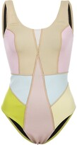 Cynthia Rowley Kalleigh colour block swimsuit