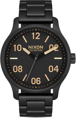 Nixon Patrol Link Bracelet Watch, 42mm