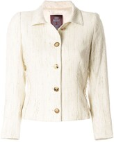 John Galliano Pre Owned single breast jacket