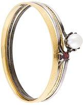 Iosselliani 'Silver Heritage' pearl bracelet set
