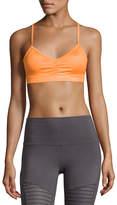 Alo Yoga Glow Strappy Low-Impact Sports Bra