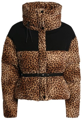 Moncler Leopard Nil Padded Jacket