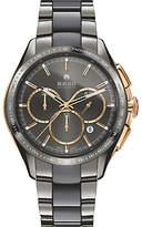 Rado R32118102 Men's Hyperchrome Chronograph Automatic Date Bi-Material Bracelet Strap Watch, Silver/Grey