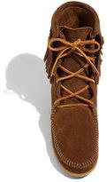 Minnetonka 'Tramper' Double Fringe Moccasin Boot (Women)