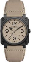 Bell & Ross Aviation BR 03-92 ceramic desert type watch