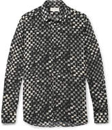 Saint Laurent - Printed Silk Crepe De Chine Shirt