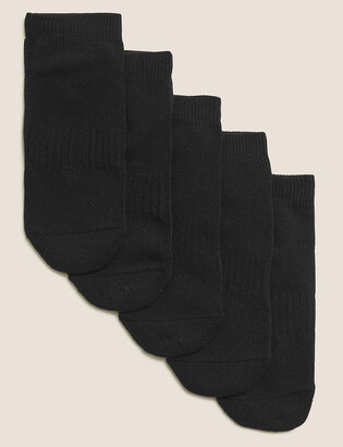 Marks and Spencer 5pk of Cushioned Trainer Liner Socks