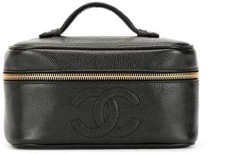 Chanel Pre Owned 1995's CC stitch vanity bag