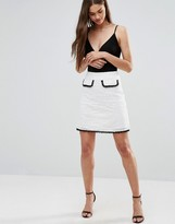 Darling Skater Skirt With Contrast Pocket