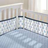 BreathableBaby Little Whale 3-Piece Classic Crib Bedding Set in Navy