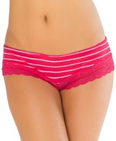 So Juniors' SO Lace-Trim Cheeky Panty
