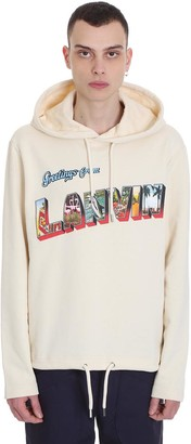 Lanvin Sweatshirt In Beige Cotton