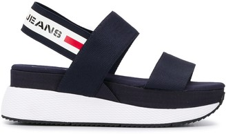 Tommy Jeans Chunky Tape Platform Sandals