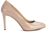 MICHAEL Michael Kors Women's Ashby Leather Court Shoes Dark Nude