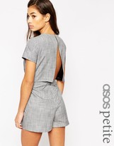 Asos Romper with Open Back Sleeves