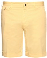 Incotex Slim-leg stretch-cotton shorts