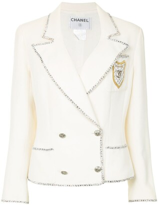 Chanel Pre Owned 2005 Double-Breasted Jacket
