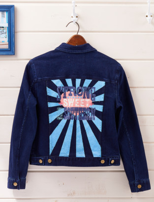 Draper James Strong Sweet And Southern Denim Jacket