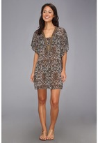 Badgley Mischka Zara Beaded Tunic