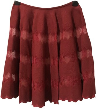 Alaia Red Skirt for Women