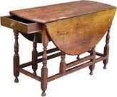 One Kings Lane Vintage Antique English Oak Gate-Leg Table