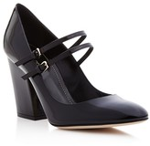 Sergio Rossi Betty Double Strap Mary Jane Pumps