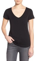 Paige Women's 'Lynnea' V-Neck Pocket Tee