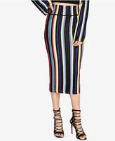 Rachel Roy Striped Pencil Skirt