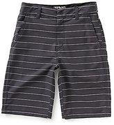 First Wave Big Boys 8-20 Striped Stretch Boardwalk Shorts