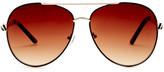 Steve Madden Women&s Aviator Sunglasses