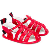 Gucci Kids - strappy sandals - kids - Leather - 16