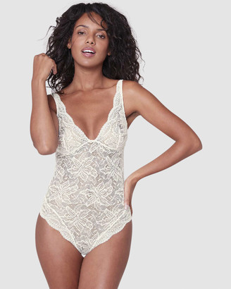 Simone Perele Women's Neutrals Bodysuits - Eden Chic Bodysuit - Size One Size, 10 at The Iconic