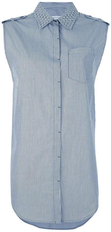 Balmain Pierre striped shirt