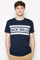 Jack Wills Campbell Text T-Shirt