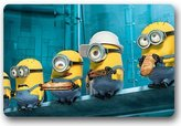 King Winner New Custom Despicable me Minions Doormat Design Pattern Printed Carpet Floor Hall Bedroom Pad Fashion Rug U45-121