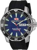 Seapro Men's 'Scuba Dragon Diver LTD' Quartz Stainless Steel Casual Watch, Color:Black (Model: SP8316)