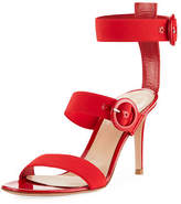 Gianvito Rossi Elastic Multi-Strap High Sandal