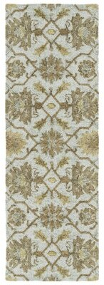 Elia Charlton Home Spa Hand-Tufted Beige/Brown Indoor/Outdoor Area Rug Charlton Home Rug Size: Rectangle 2' x 6'