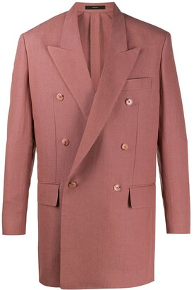 Paul Smith Fitted Double Breasted Blazer