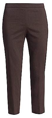 Theory Women's Eco Crunch Slim Ankle Pants