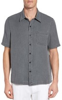 Nat Nast Men's With A Twist Silk Blend Camp Shirt