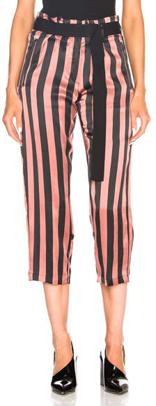 Ann Demeulemeester Belted Cropped Pants