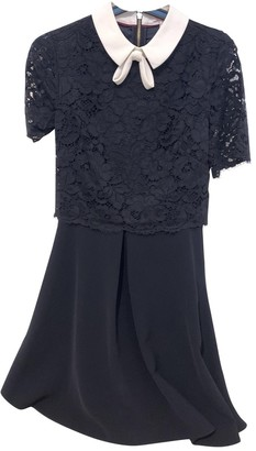 Ted Baker Navy Lace Dress for Women