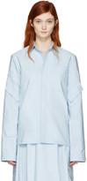 Marni Blue Cotton Pockets Jacket