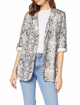 New Look Women's Serena Snake Blazer Suit Jacket