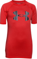 Under Armour Boys' Print Logo Tech Tee