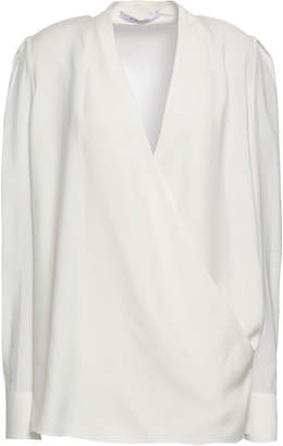Givenchy Wrap-effect Cady Top